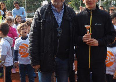 J.Valls i Aleix Puig, subcampió Infantil